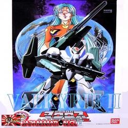 Valkyrie II VF-2SS Macross II Lovers Again Transformable Super Armed Pack 1/100 Model Kit by Bandai Japones