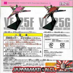 Macross Frontier VF-25F Alto Fighter Display 3 Sheryl & Ranka Banpresto