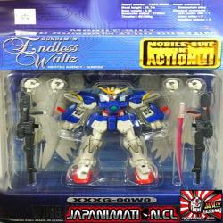 Wing Gundam Zero Custom Mobile Suit In Action MSIA Original Bandai Japones