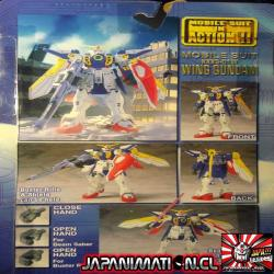 Wing Gundam XXXG-01W Mobile Suit In Action MSIA Original Bandai Japones