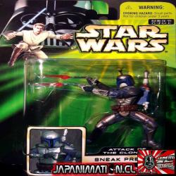 Jango Fett Sneak Preview Star Wars AOTC Takara Tomy Original