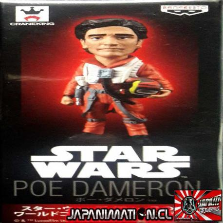 Poe Dameron WCF Star Wars Episode VII Vol 2 Banpresto Original Japones