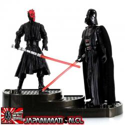 Darth Maul & Darth Vader Star Wars POFJ Takara Tomy Japones Original