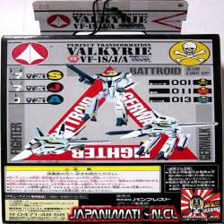 Valkyrie VF-1S/J/A Roy Fokker Perfect Transformation Banpresto Original Japones