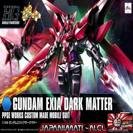 Gundam Exia Dark Matter 1/144 HGBF Build Fighters Gunpla Bandai