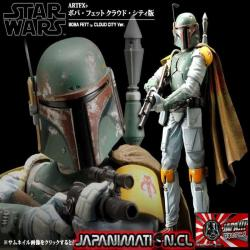 Boba Fett Artfx+ Star Wars Empire Strikes Back PVC Reissue 1/10Kotobukiya Original Japones