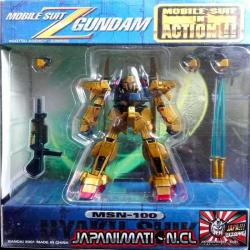 Hyaku-Shiki MSN-100 Mobile Suit In Action MSIA Gundam Original Bandai Japones
