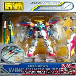 Wing Gundam Zero XXXG-00W0 Mobile Suit In Action MSIA Original Bandai Japones