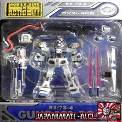 Gundam G04 RX-78-4 Mobile Suit In Action MSIA Original Bandai Japones