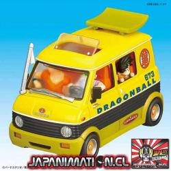 Mecha Collection Dragon Ball Vol.7 Master Roshi's Station Wagon Bandai Original Japones