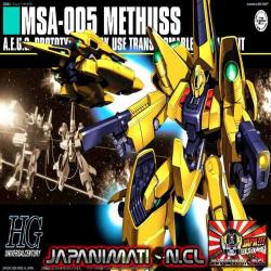 Methuss MSA-005 HGUC 1/144 Bandai Original Japones