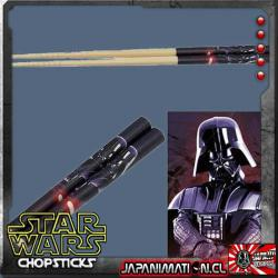Darth Vader Palitos Star Wars Bamboo Chopsticks Skatte Nuevos Japoneses