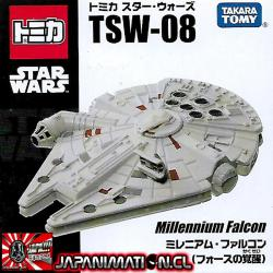 Millennium Falcon The Force Awakens Tomica Star Wars TSW-08 Original Takara Japones