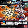 Jigen Build Knuckle Square Kaku Gundam HGBC 1/144 Bandai Original Japones