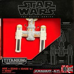 Y-wing Star Fighter The Force Awakens Die-cast Star Wars Titanium Original Hasbro Takara