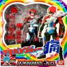 Super Akiba Red S.H.Figuarts Tipo Power Ranger Original Japones