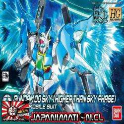 Gundam 00 Sky Higher Than Sky Phase HGBD 1/144 Bandai Original Japones