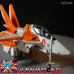 VF-1D Valkyrie TV Edition Macross Con Photo-Etched Parts Original Hasegawa Japones