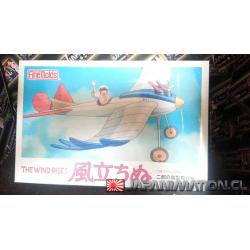 Ghibli The Wind Rises 1/48 Kaze Tachinu Bird Type Airplane Model Kit