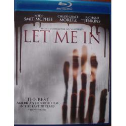 Blu-Ray Let Me In Blu-ray Impecable Sub Esp 1 Disc Terror Bluray