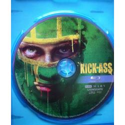 Blu-Ray Kick Ass Ficcion Impecable 1disc Bluray Sub en Español