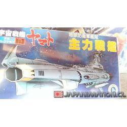 Space Battleship Yamato Star Blazers Bandai No.03 TDF Main Battle Ship Maqueta