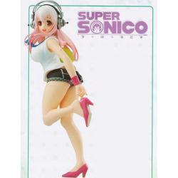 Figura Super Sonico Going Out Time 21Cm Sexy Nueva Nitro