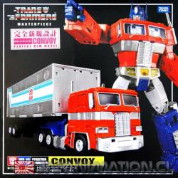 Transformers Optimus Prime Convoy Masterpiece MP-10 Takara Tomy Nuevo Japones