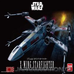 Star Wars X-Wing Starfighter 1/72 Bandai Model Kit Maqueta Ultra detallada