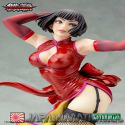 Figura Anna Williams Tekken Tag Tournament 2 Bishoujo Statue 1/7 24cm Aprox Kotobukiya Japonesa