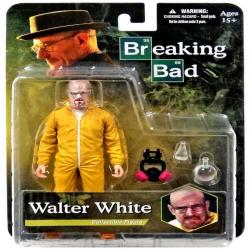 "Figura Breaking Bad Walter White Hazmat Suit Action Figure 6"" 16cm aprox Mezco Nuevo"