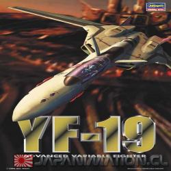 Macross Plus YF-19 Advance Variable Hasegawa 1/72 Maqueta Armable