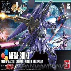 Maqueta Mega Shiki Team G-Masters 1/144 Gunpla Bandai Gundam Build Fighters