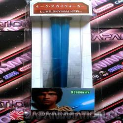 Palitos Star Wars de Sushi Luke Skywalker Light Saber Blue Kotobukiya Nuevo Espada Laser