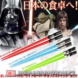Palitos Star Wars de Sushi Darth Vader Light Saber Red Kotobukiya Nuevo Espada Laser
