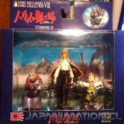 Figuras Howl's Moving Castle 3 Figure Set 2 Ghibli El Castillo Ambulante