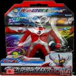 Figura Ultraman Taro Warrior of Light 17Cm Bandai Original Japones Luz