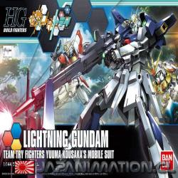 Maqueta Lightning Gundam HGBF 1/144 Build Fighters Gunpla HG Bandai