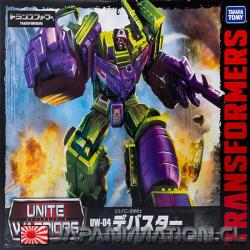 Figura Transformers Devastator UW-004 United Warriors Takara Tomy Original Japonesa