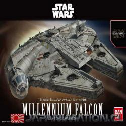 Maqueta Millenium Falcon 1/144 Star Wars The Force Awakens Nueva Japonesa Bandai