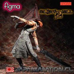 Figura Pyramid Head (Red Pyramid) Silent Hill 2 Figma Original Japonesa