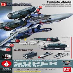 Macross Robotech Super Parts Set Para VF-1 Valkyrie Bandai 1/72