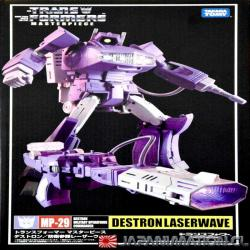 Transformers MP-29 Laserwave Shockwave Masterpiece MP Takara Tomy Original Japonesa