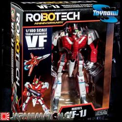 Robotech Miriya Sterling VF-1J Macross 30th Anniversary Edition 1/100 Scale Action Series 1 Toynami