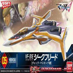 Macross Delta VF-31E Chuck Mustang Fighter Mode Mecha Collection Japones