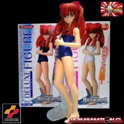Figura Konami Quiz Magic Academy Aloe Deluxe Swimsuit blue 22cm Aprox