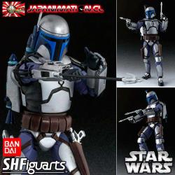 Jango Fett Star Wars Attack of the Clones S.H Figuarts Original Bandai Japones