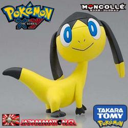 Pokemon X Y MC.008 Elekiteru Pocket Monster Moncolle Figure Takara Tomy Japones